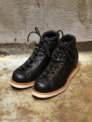 Chippewa 5 Bridgemen Lace-To-Toe - Black
