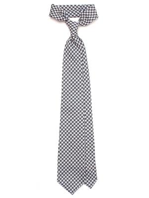 Spalla Sfoderato Check Printed Wool 8.5cm Tie