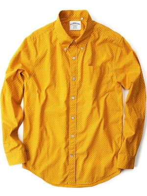 AAS Sunshine Yellow Dot Shirt - BA01