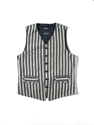 Eastlogue Explorer Vest - Gray Stripe