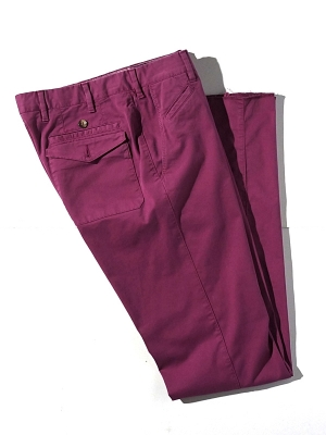 Vigano Chinos Slim Fit - Wine