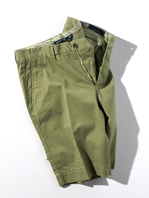 Vigano Shorts - Light Olive