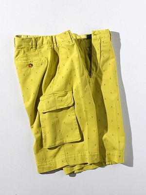 Vigano Cargo Shorts - Z Yellow