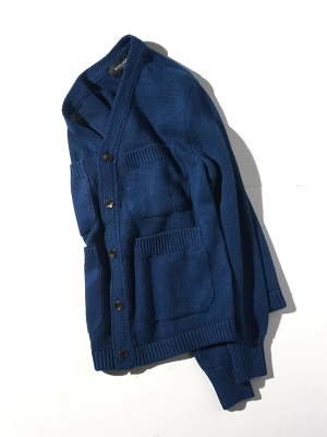 Eastlogue 4Pocket Cardigan - Navy