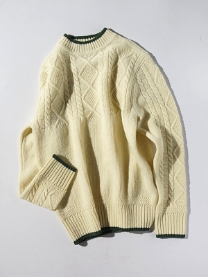 Eastlogue Crew Neck Knit - Off White
