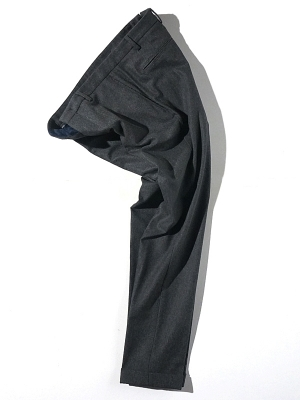 Germano 3E 9646 Wool Pants -Charcoal
