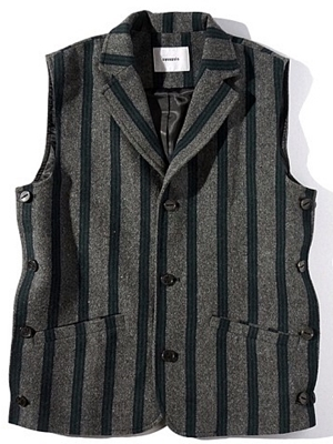 synopsis Tailored Vest B - Stripe