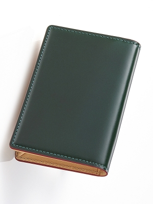 Sacco Business Card Holders - Green