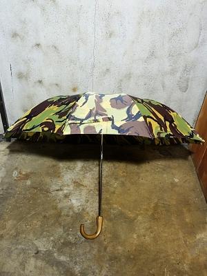 Fox Umbrellas TEL-1 Brown Maple Wood Camo