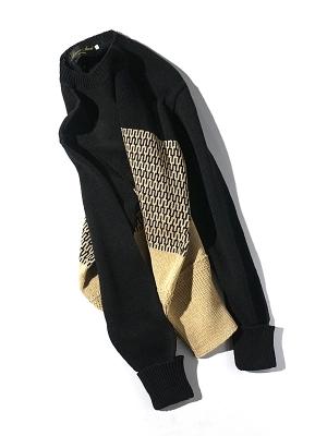 Haversack Attire 5G Border knit - Black