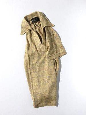 Haversack Attire Linen Colornep Plain Stitch Polo Knit