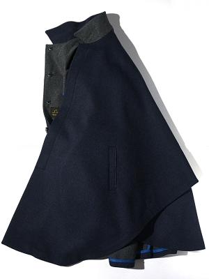 Lodental U029  Hidden Zip Coat