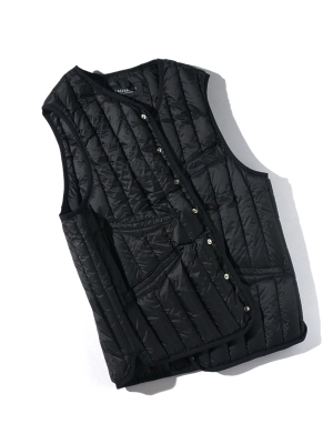 Eastlogue Shield Lightweight Down Vest - Black