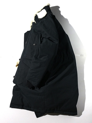 Eastlogue Ferndale Long Parka - Black