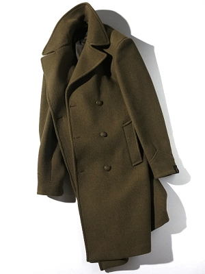 Palto Achille Coat - Military Green