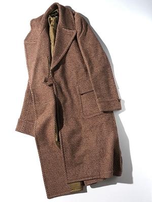 Haversack Attire Herringbone Knit Coat- 471709