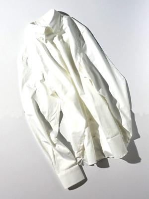 Mario Muscariello Peppino Button Down -White