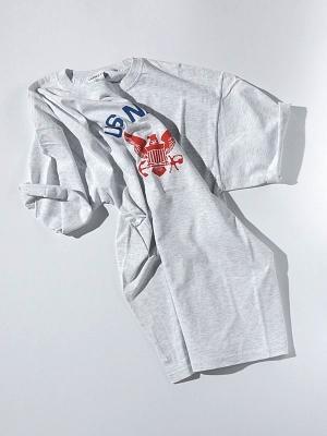 Wild Donkey Navy T- Shirt