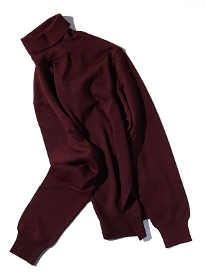 Morgano 19 507 Turtle Neck - Burgundy