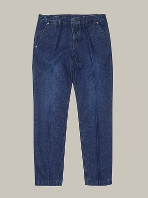 GOTT Regular Tapered Denim Marco - Denim Blue