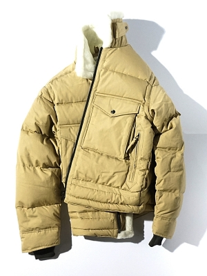Eastlogue G-8 Flight Down Jumper - Beige