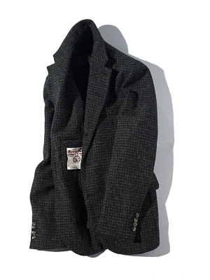 Man1924 Kennedy Jacket 181903 - Dark Gray