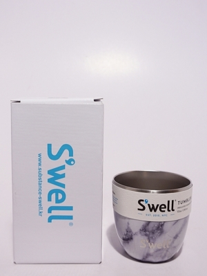 Swell Bottle Tumbler Collection 10oz   - White Mable