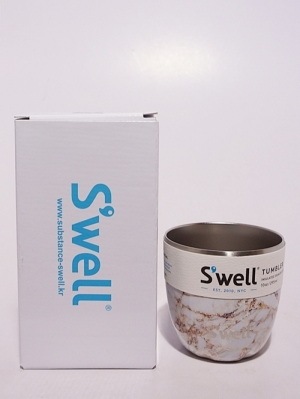 Swell Bottle Tumbler Collection 10oz  - Calacatta Gold