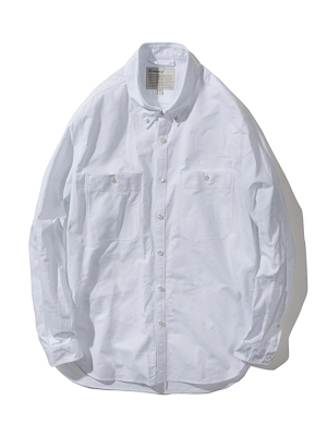 Pottery Oxford Button Down Shirt - White
