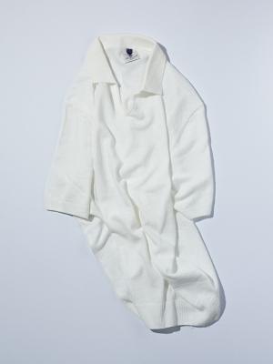 Mc Lauren Gerby Polo Knit - White
