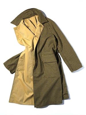 East Harbour Surplus Benson Reversible Trench Coat