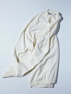 Mc Lauren Accalon Half Turtle Neck Knit - White