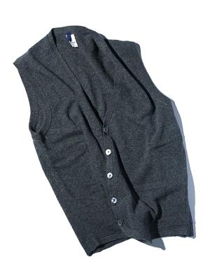 Mc Lauren Brae Knit Vest - Charcoal