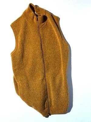 Mc Lauren Enghmou Knit Vest  - Mustard