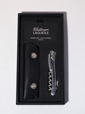 Chateau Laguiole Wine Opener - Silver Coated
