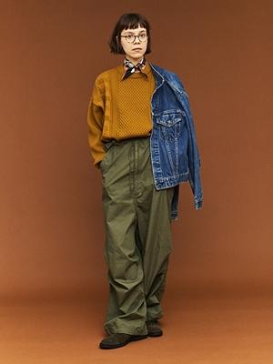 Yashiki Arare Knit - Mustard