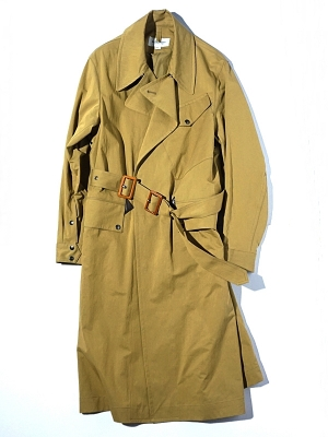 Eastlogue Dispatch Rider Coat - Beige Twill