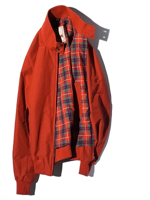 Baracuta G9 Origianl Jacket -  Dark Red