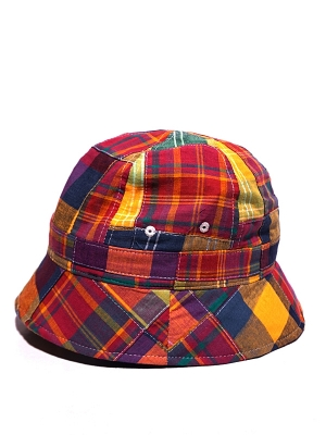 Eastlogue Bucket Hat - Multi Madras
