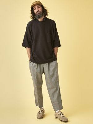 Yashiki Ajisai Knit - Black