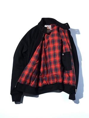 Baracuta G9 Melton Wool  - Black
