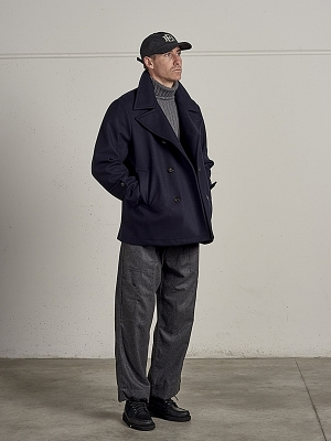East Harbour Surplus Krug Wool Pea Coat
