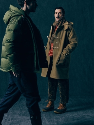 Eastlogue X Gloverall Monty Duffle Coat
