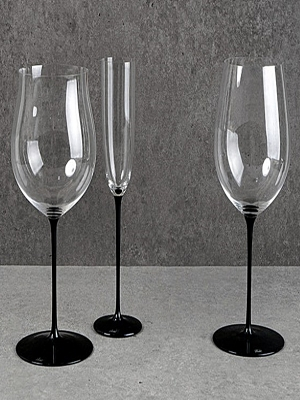 Riedel Sommelidrs Blacktie Wine Glass