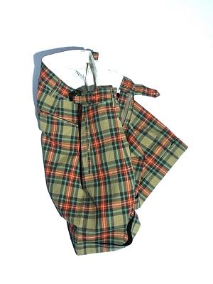 Eastlogue Explorer Shorts - Beige Multi Check