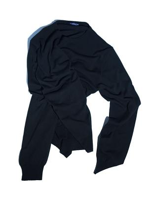Morgano Crew Neck Knit - Black